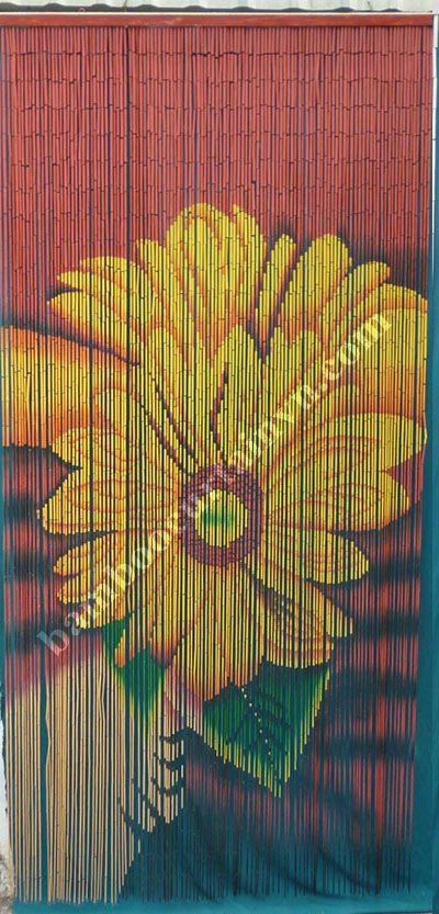 Handmade Bamboo Door Curtain Blinds Used For Indoor