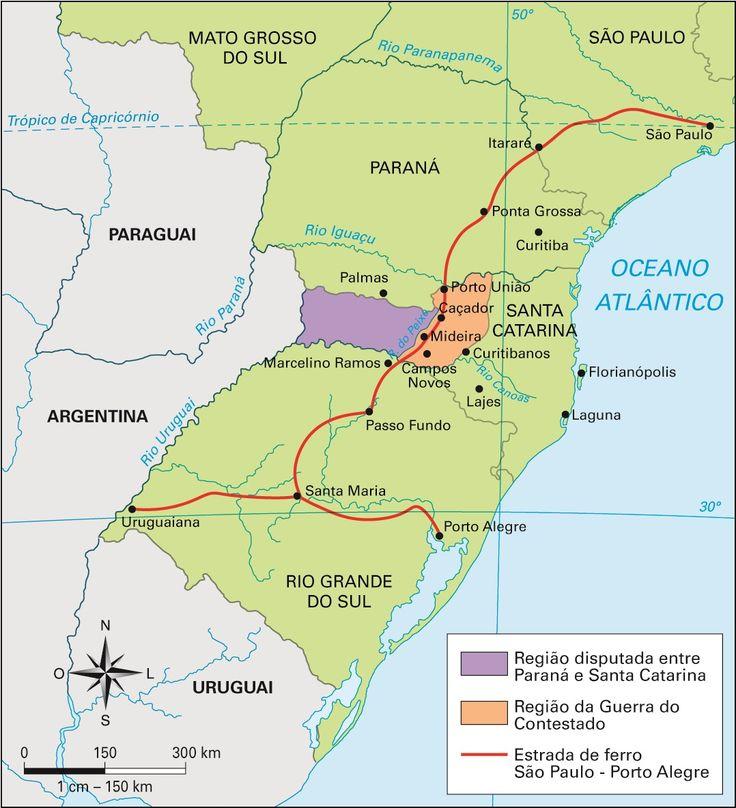 Santa Catarina - Conheça seu Estado (História e Geografia): 10 - A Guerra do Contestado