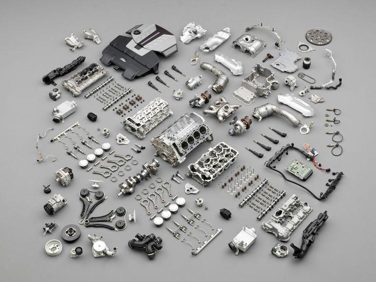 S63 engine from X5M, X6M, F10 M5, & F12 M6 Bmw engines