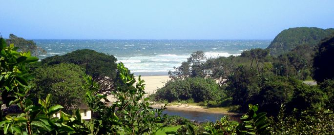 Amapondo Backpackers in Port St Johns - you are guaranteed pondo fever, so book a few extra days (or months)