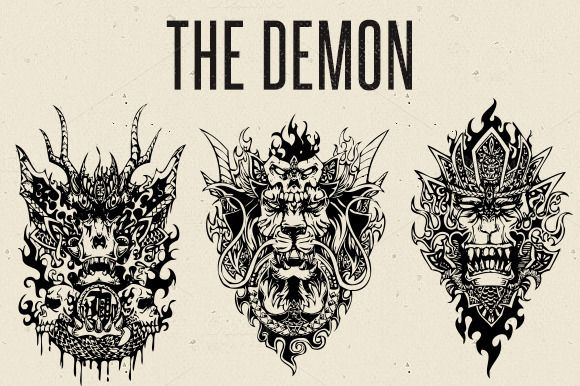 Check out The Demon by Nhật Tiên on Creative Market