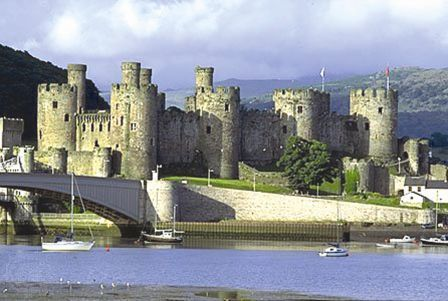 Conway Castle Wales