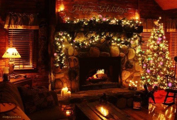 Happy Holidays (animated gif eCard)
