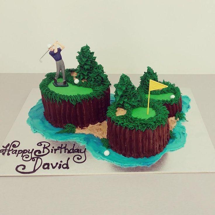 Golf Course Cakes