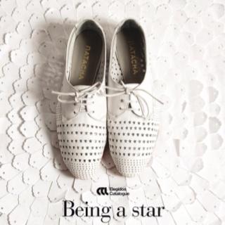 Being a star!