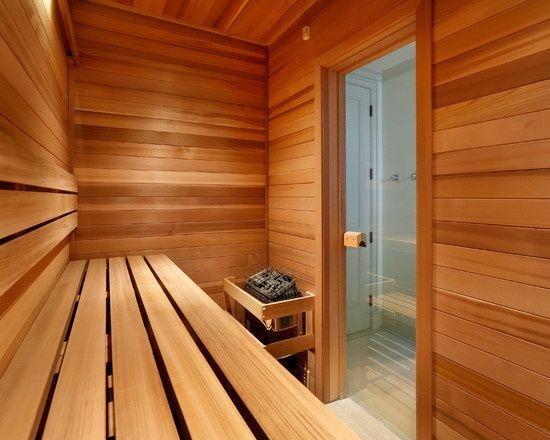 Home Gym Design - sauna 2