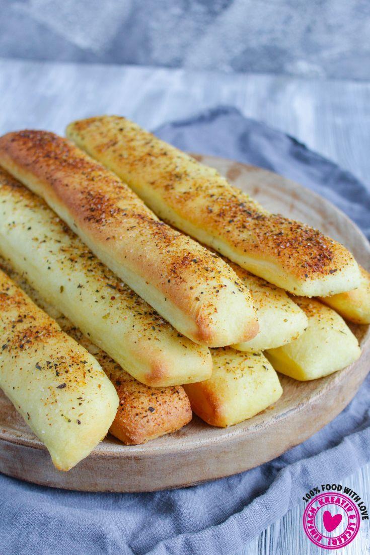 Breadsticks | Brotstangen a la Pizza Hut