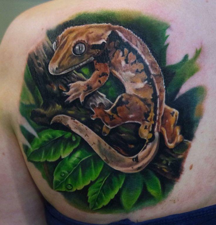 crested gecko tattoo wwwpixsharkcom images galleries
