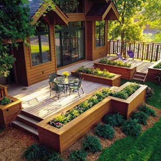 54 best Outdoor Deck Design images on Pinterest Deck design
