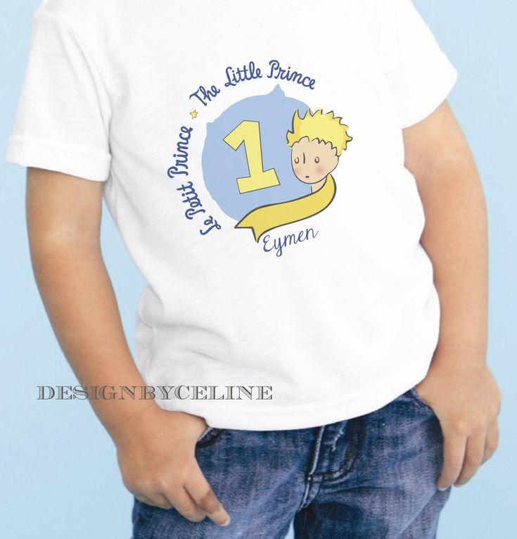 küçük prens tshirt 1 yas fikirleri designbyceline