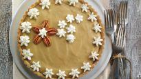 Tarte à la crème au caramel écossais-