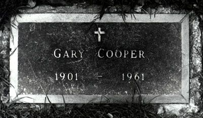 """Gary Cooper (1901 - 1961) Starred in """"Beau Geste"""", """"For Whom the Bell Tolls"""", """"Sergeant York"""", """"The Fountainhead"""", """"High Noon"""" and many other movies"""