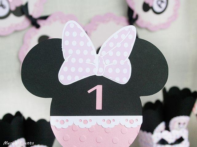 Invitaciones Minnie Mouse Merbo events