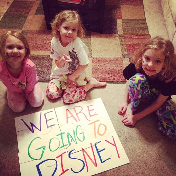 21 Best Ideas About Surprise Walt Disney World Trip On