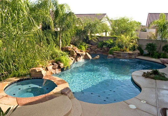 17 best images about pools on pinterest pool spa decking and hot tubs - Swimming pool companies ...