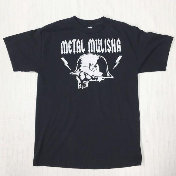 Meta Mulisha shirt men's Medium. Worn. Meta Mulisha shirt men's Medium. Worn. Tops Tees - Short Sleeve