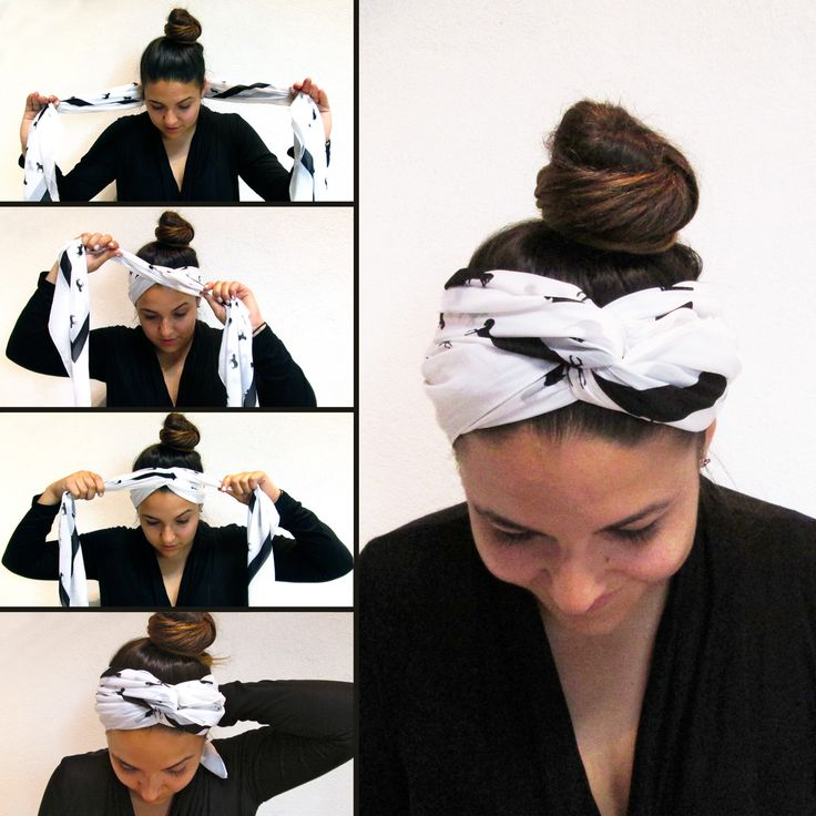 scarf hairband