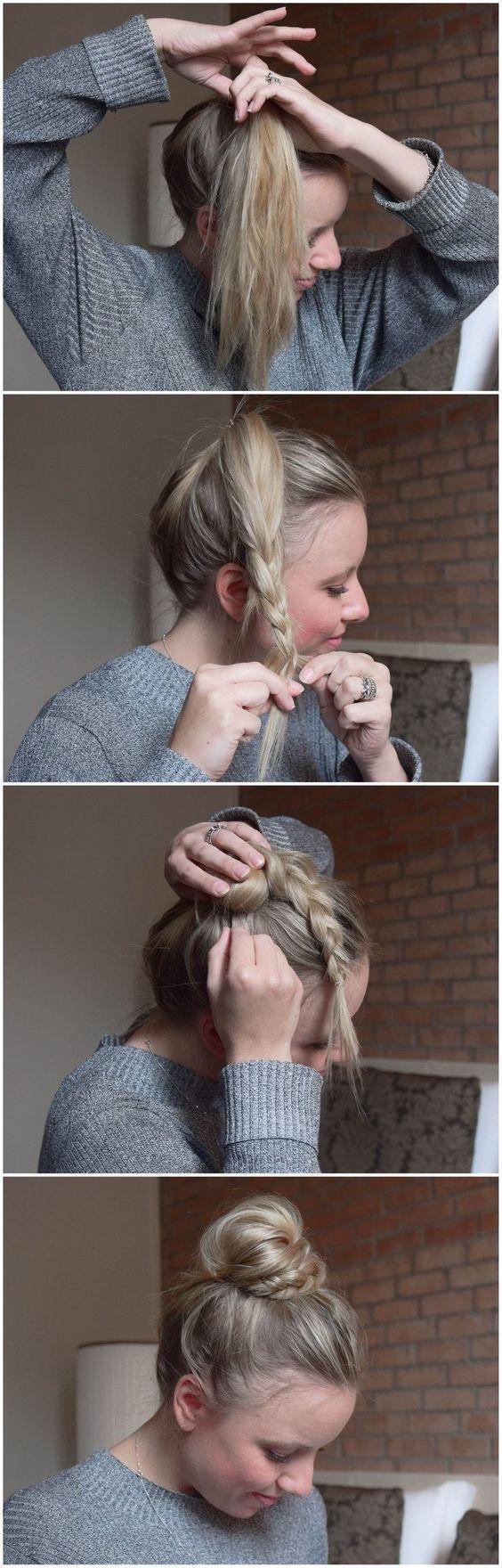 Bestes von netten einfachen Frisuren Tumblr für Schule
