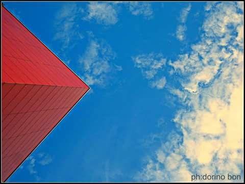 Rosso il cielo di Udine... Ph Dorino Bon