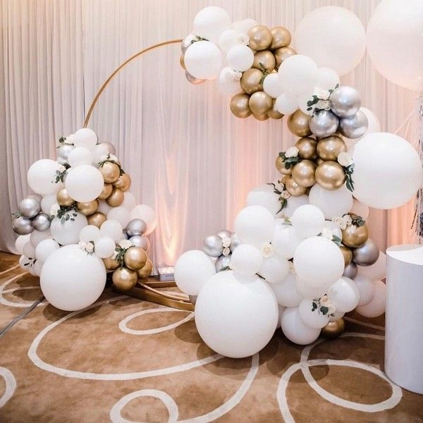 Top 20 Creative Balloons Wedding Decor Ideas Wedding Balloon Decorations Wedding Balloons Birthday Balloon Decorations