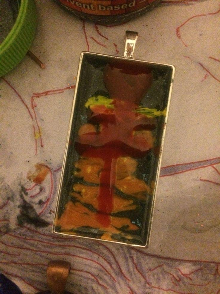 World of tree - Epoxy Resin Medal