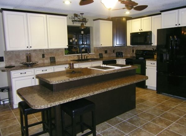 Two Tier Kitchen Islands   Google Search