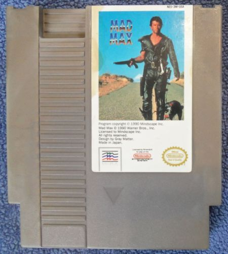NES-Nintendo-Mad-Max-game-cartridge-only-tested-working