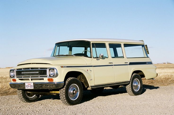 1968 International Travelall