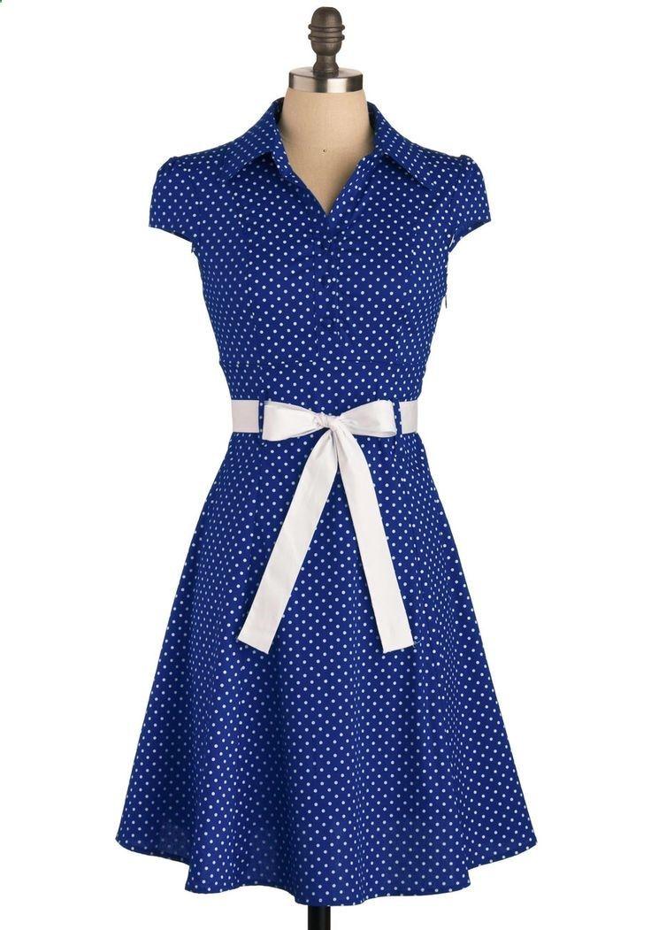 Hepcat Dress in Deep Blue, #ModCloth #fashion memberdiscountcodes.com | vanfl.org