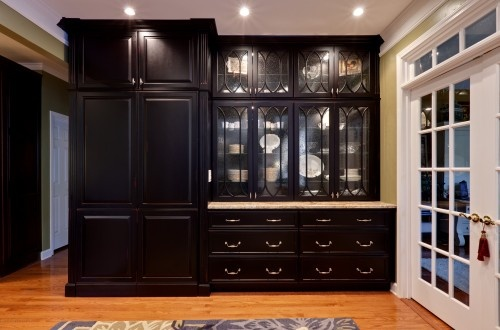 Pantry Is In The Double Doors! Looks Like A Cabinet/armoir