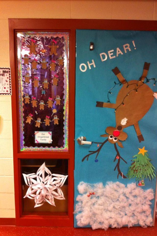 Cute Classroom Door Idea Oh Dear Christmas Is Almost
