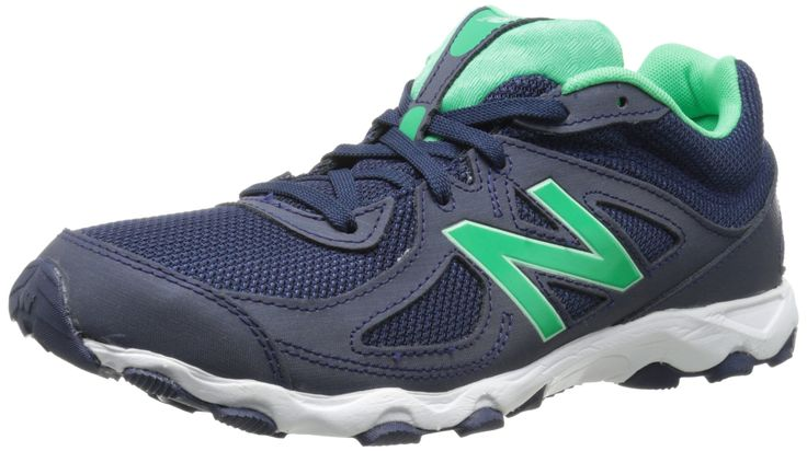New Balance Women's WL520 Running Shoe, Navy/Green, 5 B US | Amazon.com