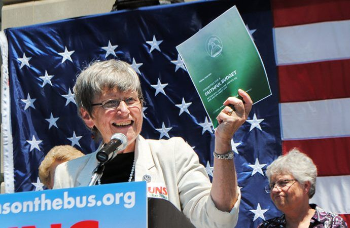 .@Crux @JosephineMcK: In blunt talk at the Vatican, Sister Simone Campbell blasts 'male power'