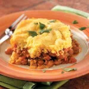 meatless tamale veggie pie