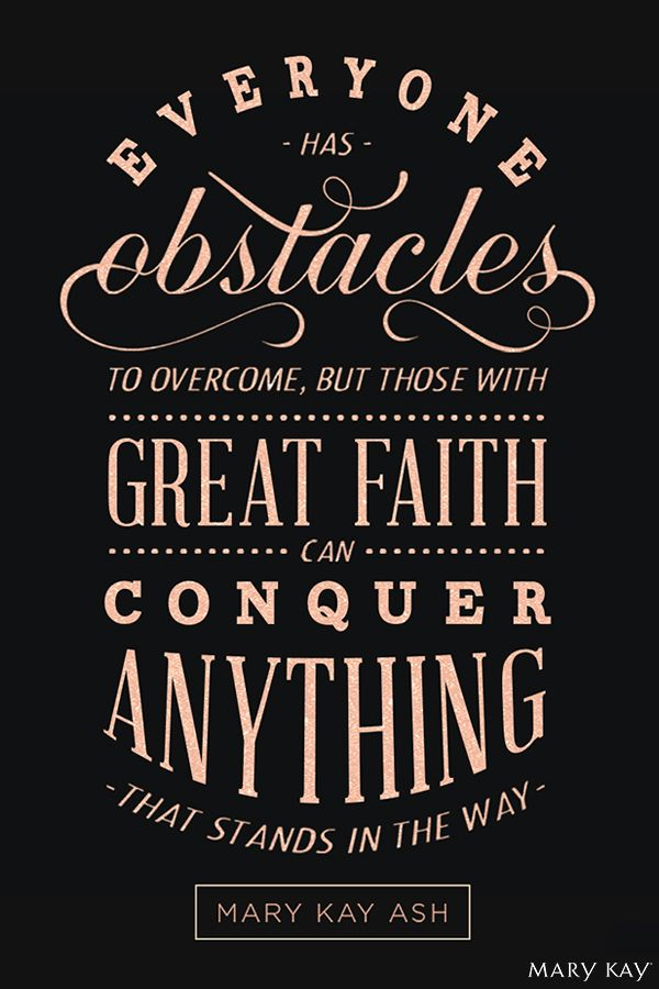 Mary Kay Ash qoute! Inspiring! Http://www.marykay.com/mega brown