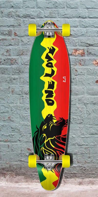 "Longboards USA - Cheap Kicktail Rasta 2 40"" Longboard from Punked Complete, $105.00 (http://longboardsusa.com/longboards/longboards-for-beginners/cheap-kicktail-rasta-2-40-longboard-from-punked-complete/)"