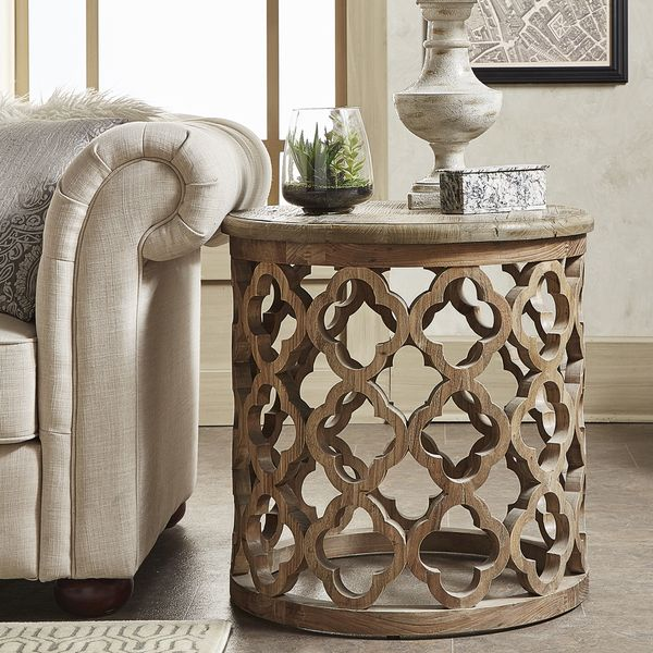 Style up your room with this Moroccan trellis design piece of home furniture. It will look beautiful next to a sofa but can also be placed in any room as a nice decorative. Use it to hold a nice plant