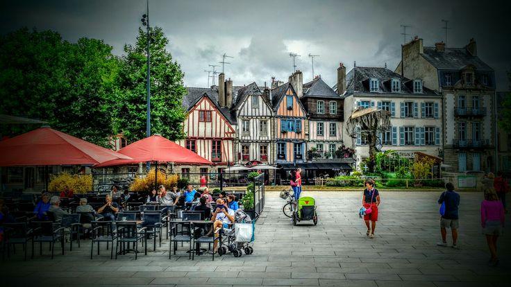 Vannes Morbihan - le port