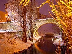 Aranda de Duero: Puente románico.