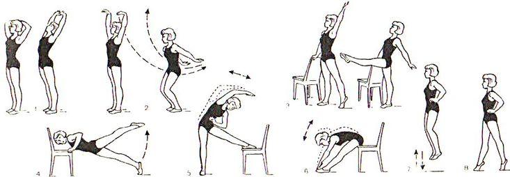 зарядка по утрам гимнастика здоровья