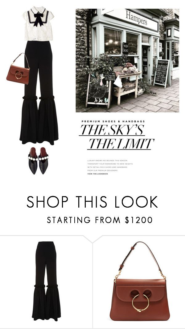 """""""i dont care"""" by yenybarriot on Polyvore featuring Christian Siriano and J.W. Anderson"""