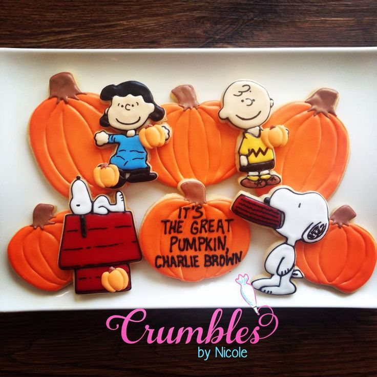 It's The Great Pumpkin, Charlie Brown! By Crumbles by Nicole http://www.crumblesbynicole.com