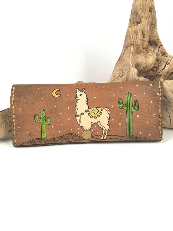 Check out this item in my Etsy shop https://www.etsy.com/ca/listing/567866039/womens-leather-wallet-leather-llama