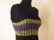 Malla 100% algodón. Puede ser usada sobre una polera o camiseta (según el clima). Es liviana, cómoda y muy entretenida!