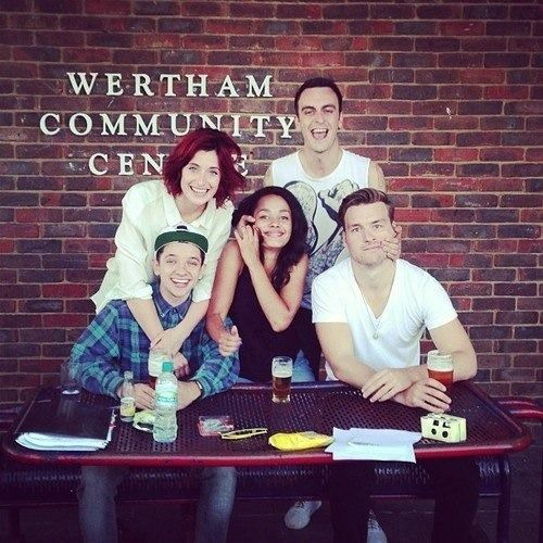 Joseph Gilgun, Karla Crome, Nathan McMullen, Natasha O'Keeffe & Matt Stokoe