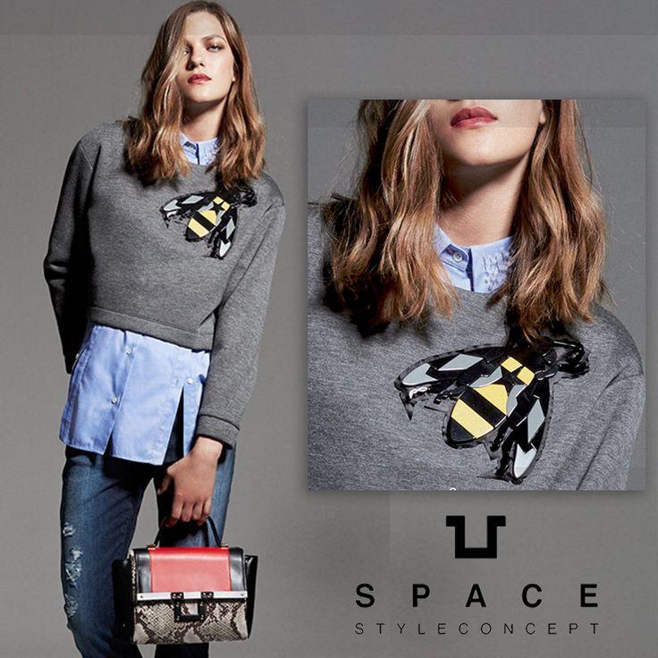 Lo stile unico e creativo di Space Style Concept  conquista ogni #look, da quello più elegante a quello più #casual. Lasciati conquistare da una combinazione originale e innovativa su #elleciboutique ----> http://bit.ly/1UpWTf9  #spacestyle #elleci #everydaystyle #sales #wintersales #fashion #shoes #saldi #shoponline #sale #instagood #moda #amazing #shopping  #topshop #fashiondiaries #modadonna