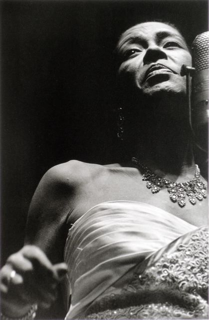 Photographs by Lee Friedlander - American Musicians . DAP, New York 1998 / Billie Holiday, 1959