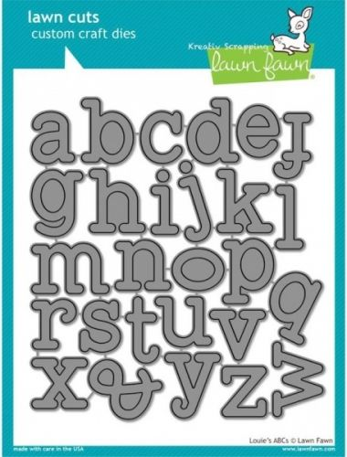 LAWN FAWN DIES LF688 - LOUIES ABCS DIESfra LAWN FAWN,koordinerer med diesLF689.LAWN FAWN - Lawn Cuts Custom Craft Dies -High quality steel craft dies. Some coordinate with stamp sets for even more creative choices.These dies are made of 100% high quality steel; are compatible with most die-cutting machines; and will inspire you to create cute crafts! This set coordinates with the dies LOUIES 123's set. Flere spennende produkter fra denne leverandøren finner du hereller klikk på ...