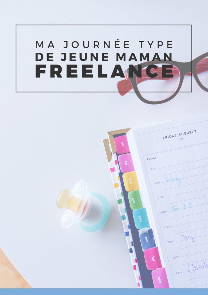 Ma journée type de maman freelance | Si vous aussi vous êtes freelance, maman, que vous devez jongler entre les biberons et les missions, cet article pourrait vous donner une idée d'organisation de journée ! Epinglez pour plus tard ou cliquez pour lire tout de suite !
