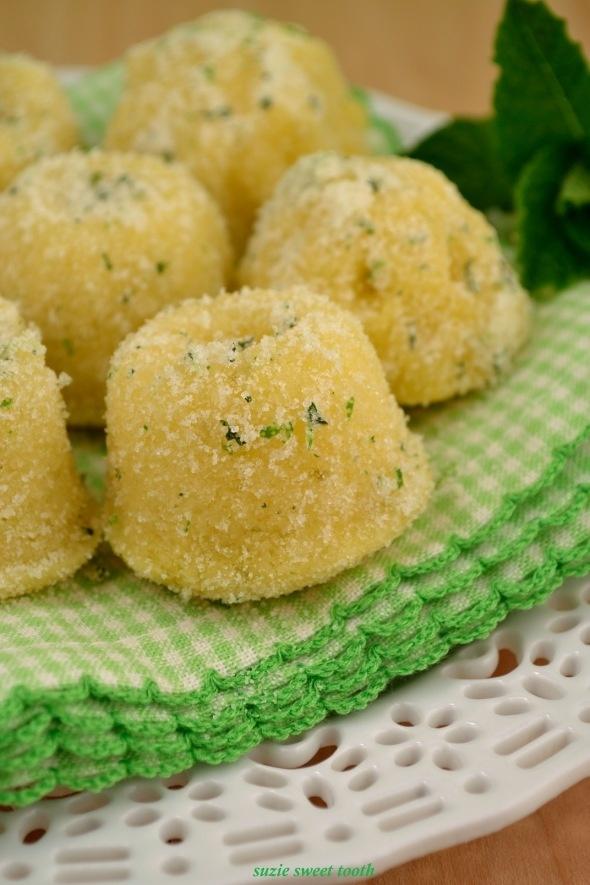 Mojito Tea Cakes....Duuuuuuuude!